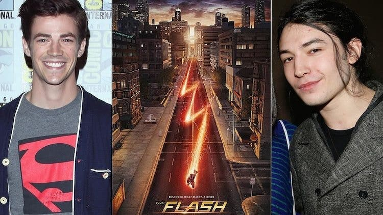 the flash dc ezra miller o grant gustin