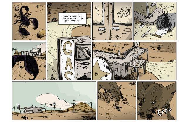 Sicarios Colgados en el desierto