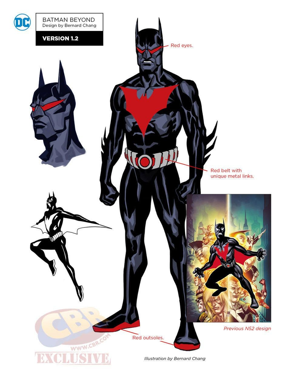 Batman Beyond DC REBIRTH
