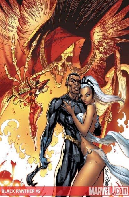 Black Panther Storm J Scott Campbell