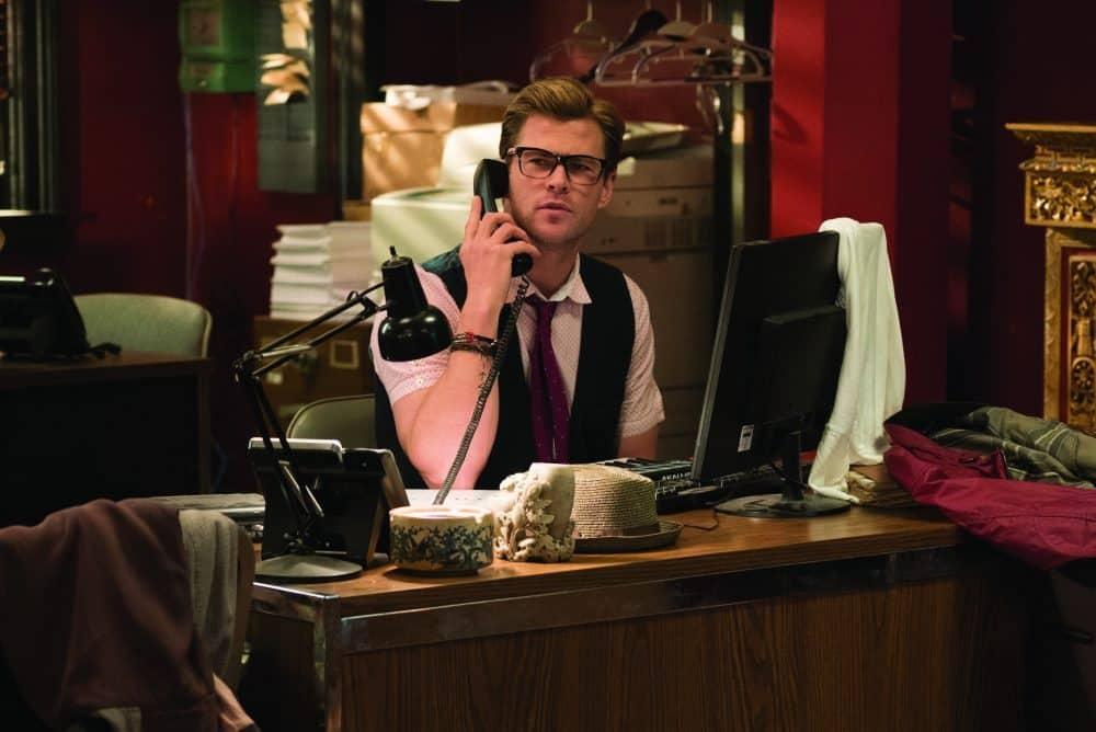 Kevin (Chris Hemsworth) Cazafantasmas