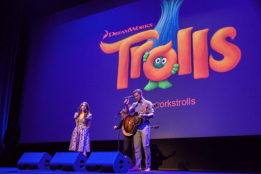'Trolls' en Cannes - Justin Timberlake & Anna Kendrick