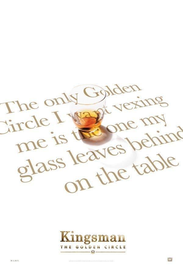Kingsman el circulo dorado