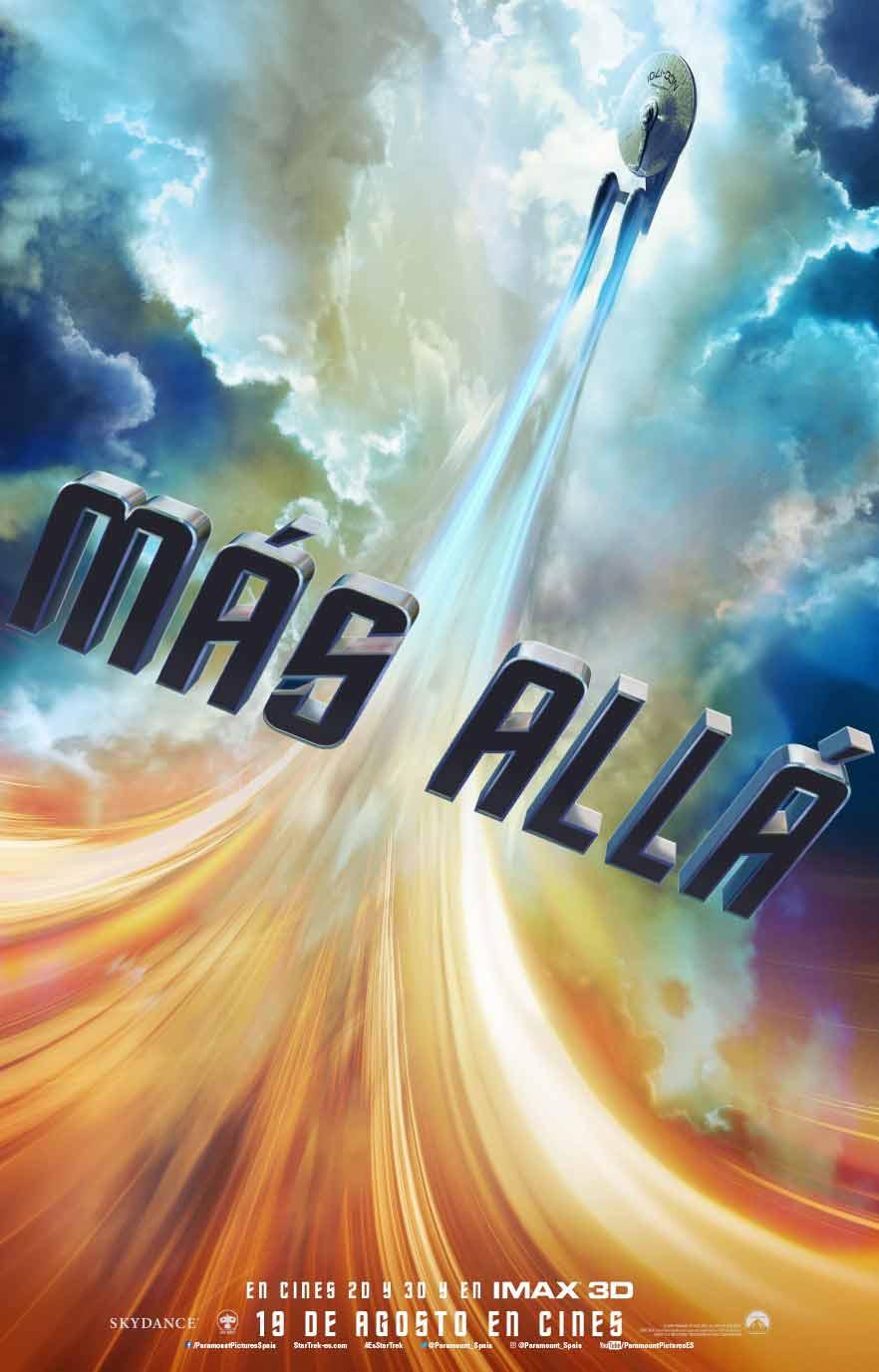 Póster en español de Star Trek: Más allá
