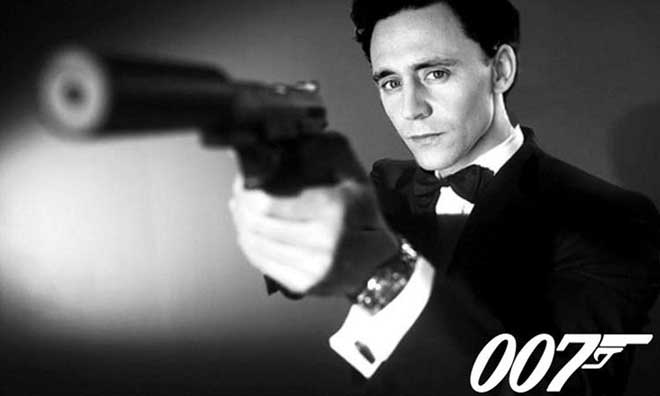 Tom Hiddleston James Bond