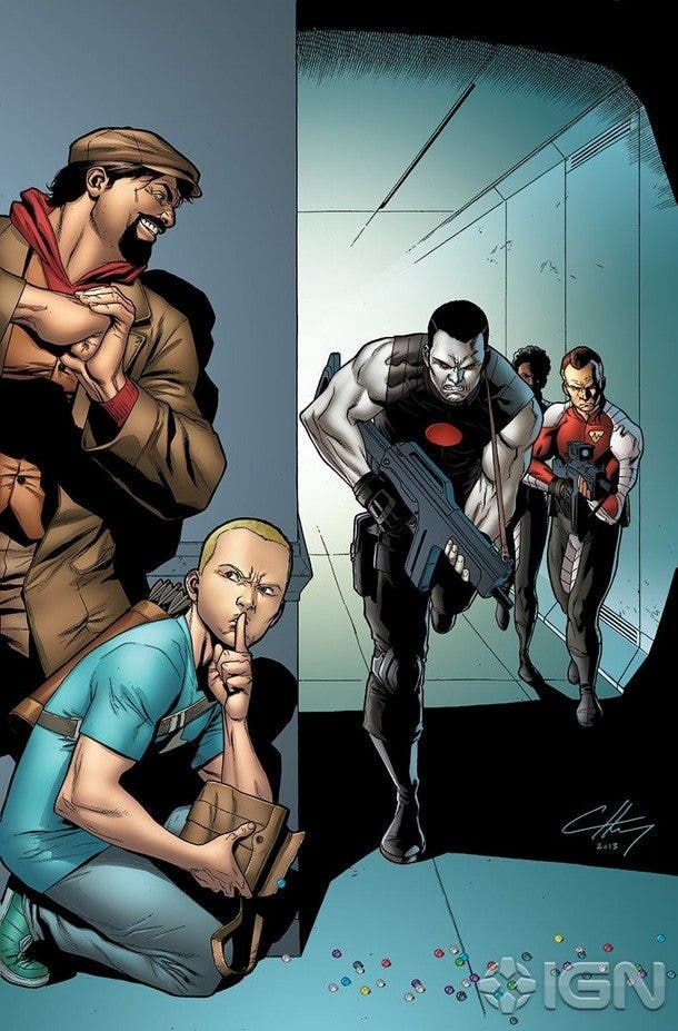 Archer & Armstrong MISION IMPROBABLE 4