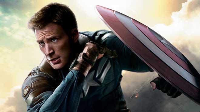 chris Evans en Capitán América: El soldado de invierno