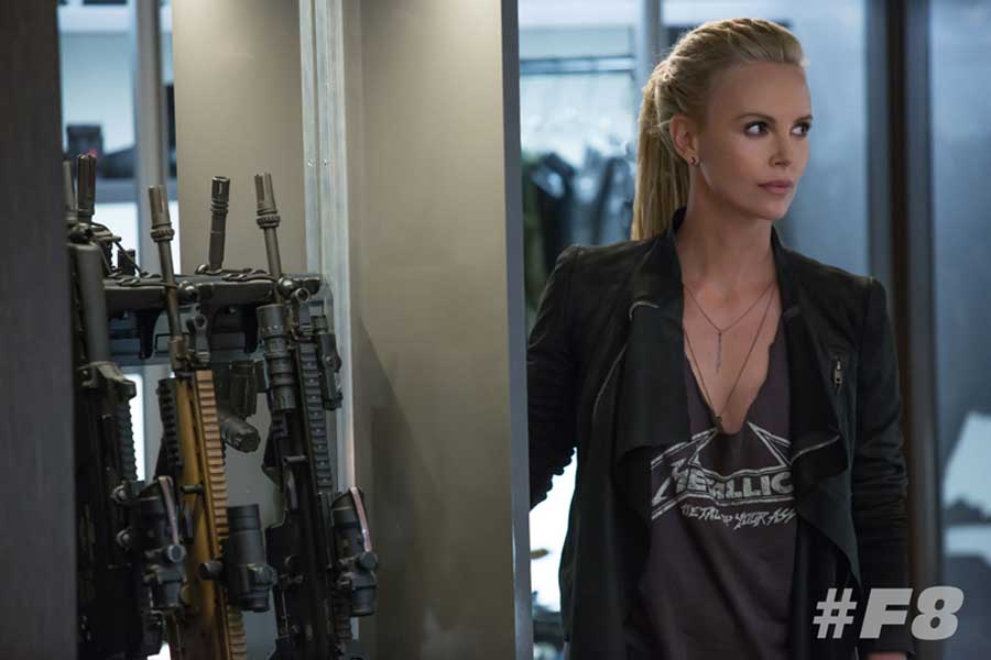 Charlize Theron en Fast & Furious 8 (A todo Gas 8)