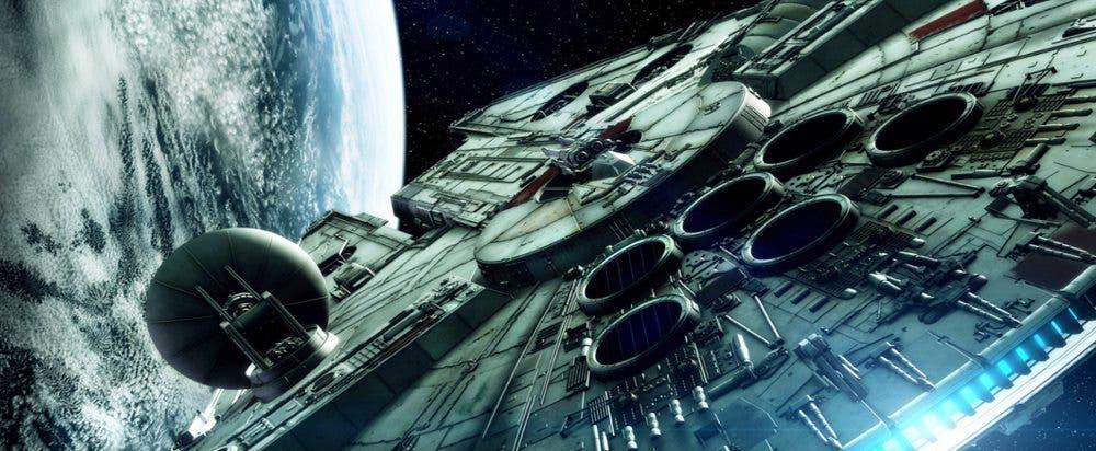 Halcón Milenario en Han Solo (Star Wars)
