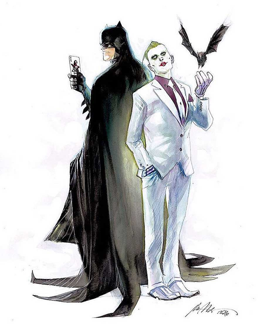 Joker como Jared Leto en cómics