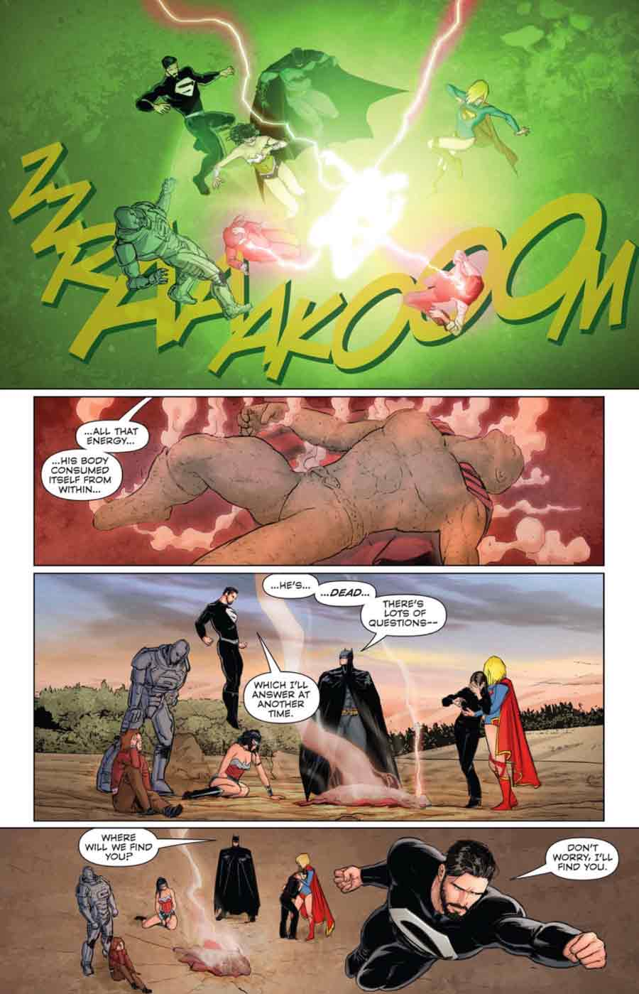 Muerte de Superman en los cómics