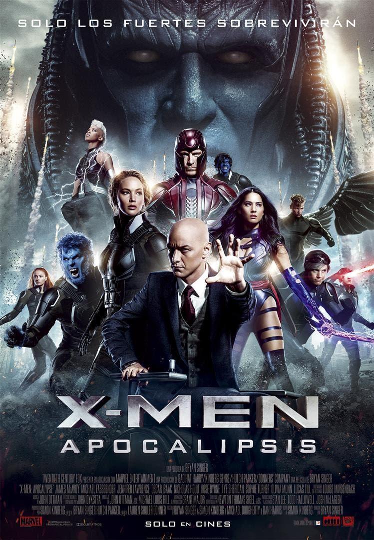 poster x-men: apocalipsis