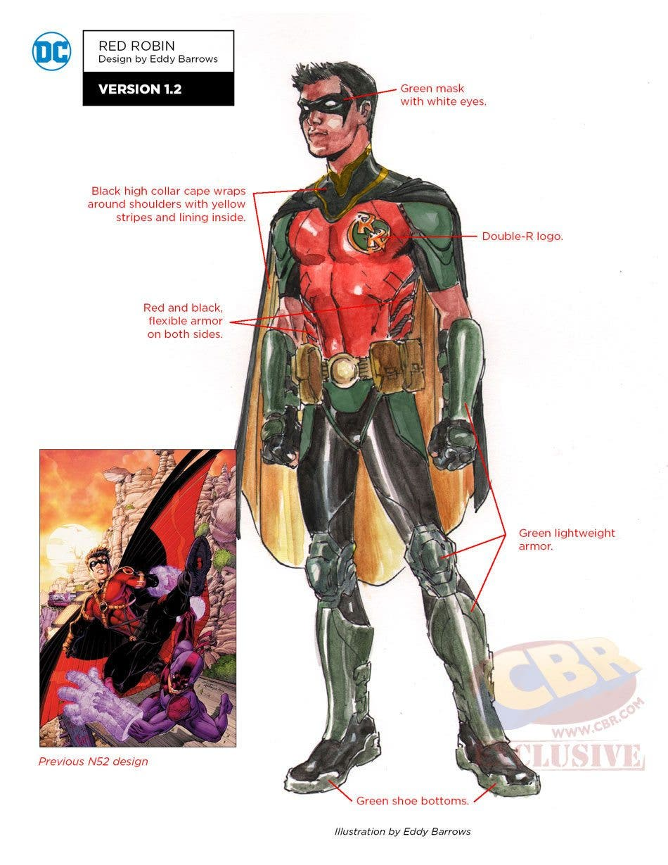 red Robin DC REBIRTH