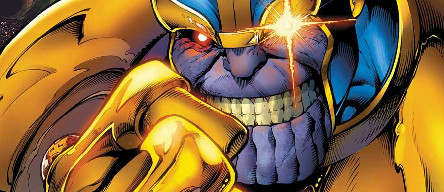 Thanos de Marvel en Vengadores: Infinity War