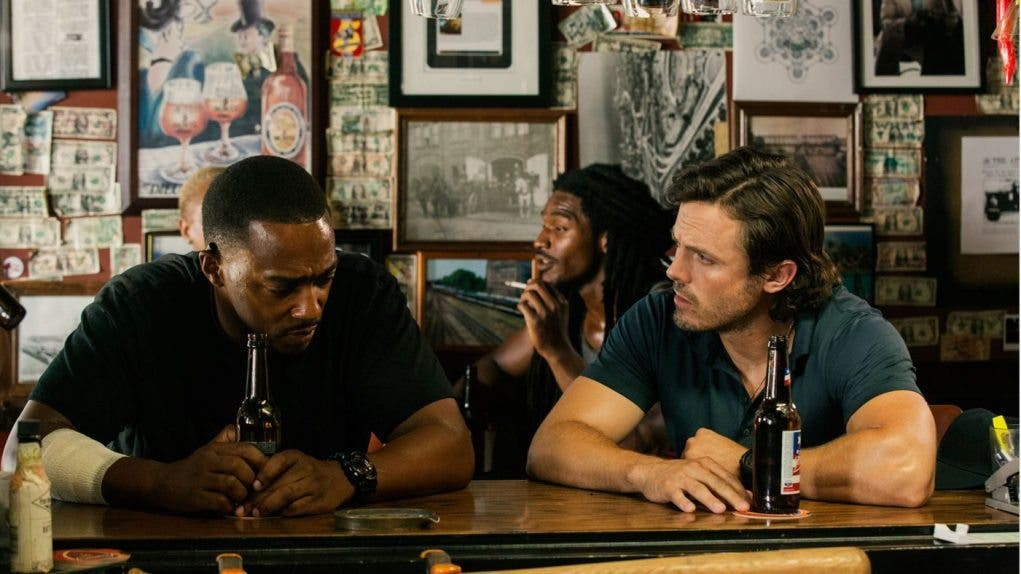 triple 9 Anthony Mackie y Casey Affleck