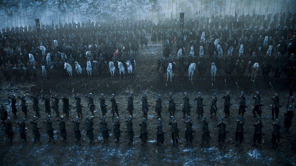 La batalla de los bastardos. Juego de tronos