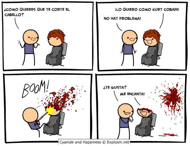 Cyanide and Happiness. Golpes de risa