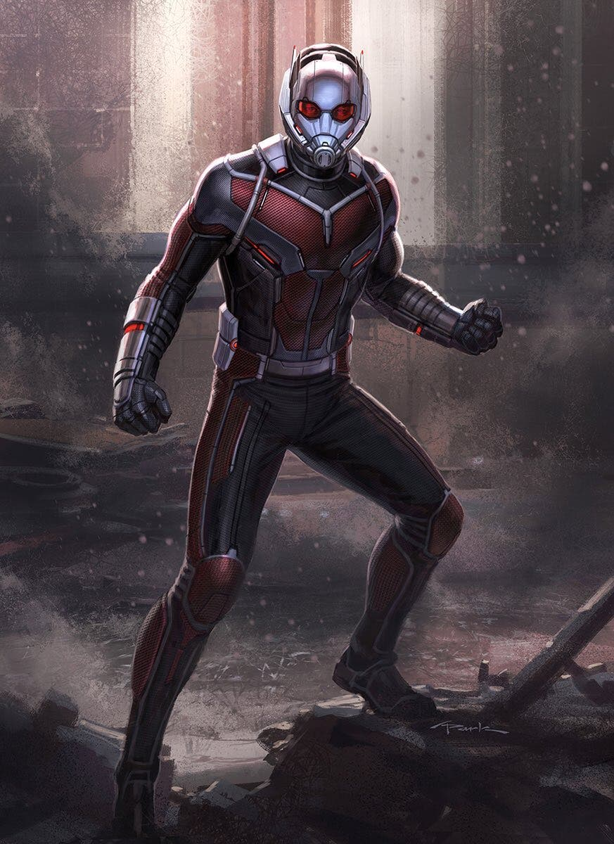 Andy Park concept art Ant man