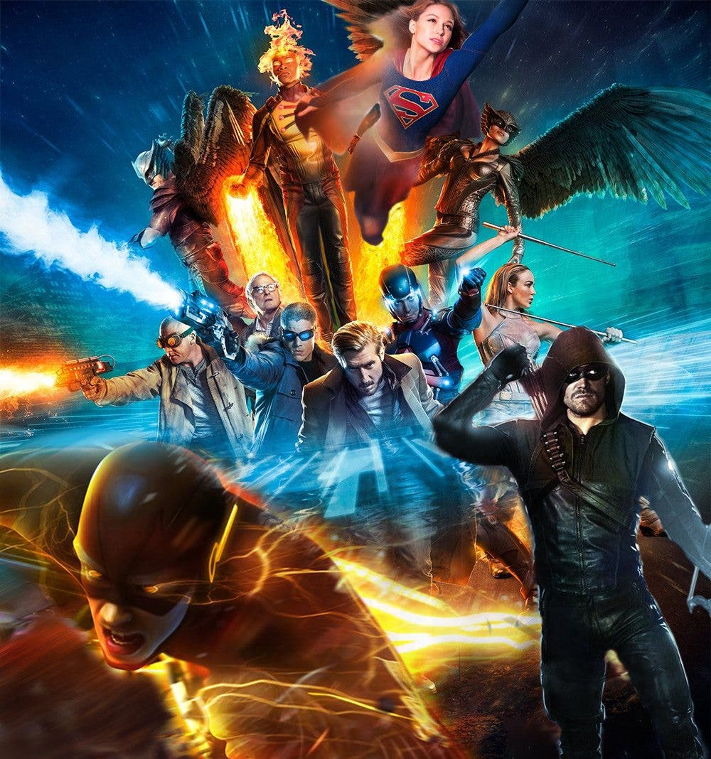 CW series DC Comics