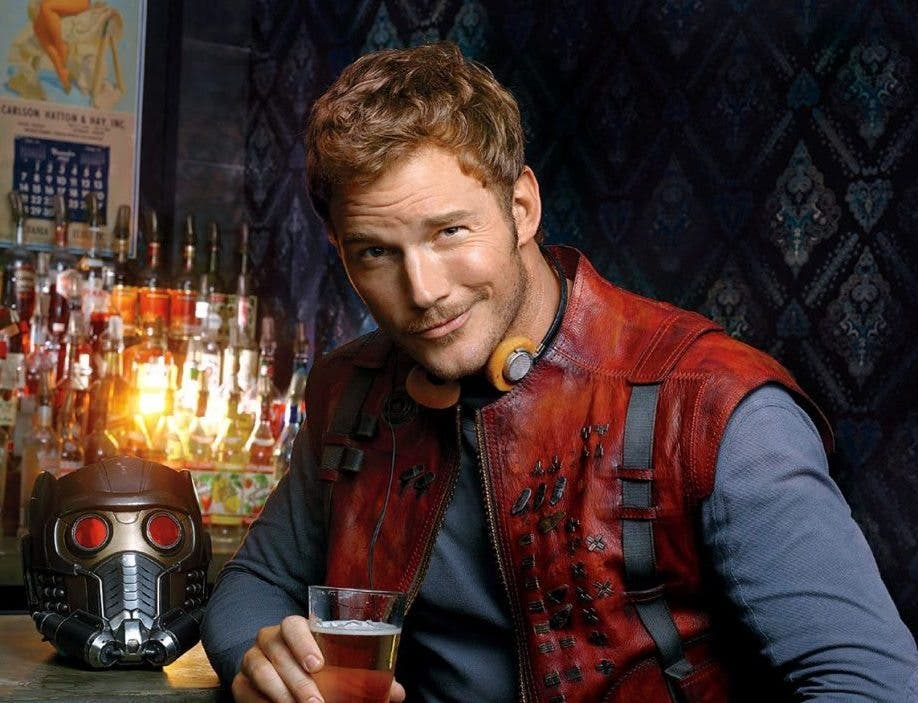 Chris Pratt es Star Lord en Guardianes de la Galaxia