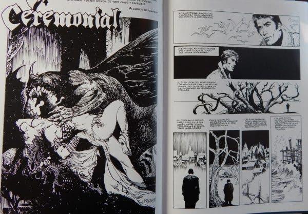 'Los mitos de Cthulhu' de Esteban Maroto