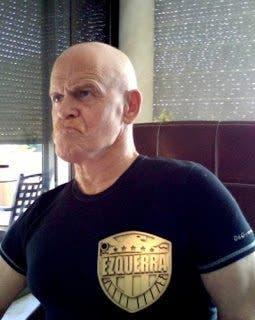 Carlos Ezquerra creador de Judge Dredd_2010