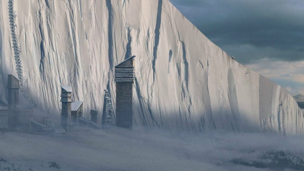 El muro juego de tronos