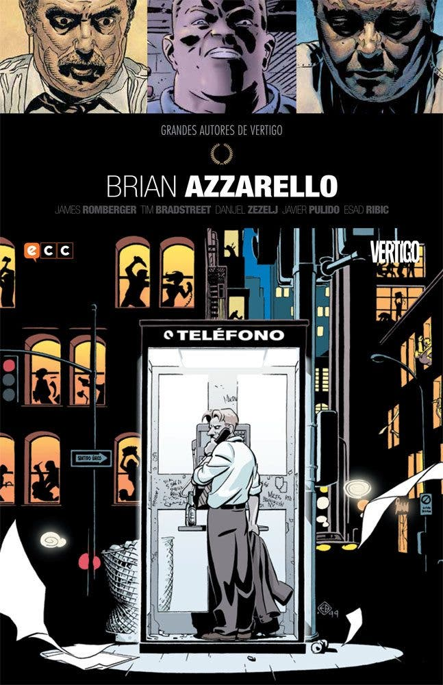 Grandes autores de Vertigo Brian Azzarello