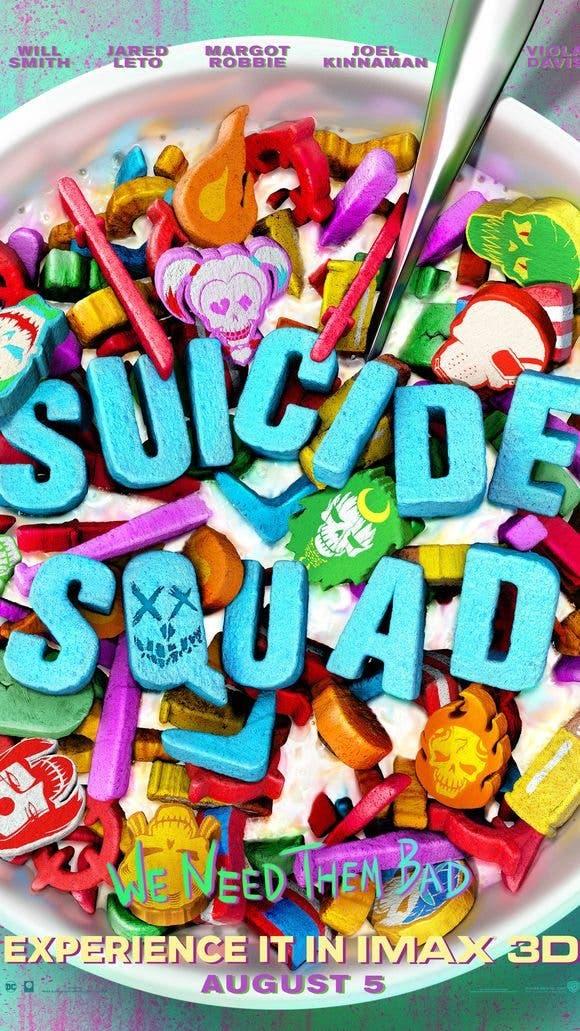 Poster IMAX de Suicide Squad (Escuadrón Suicida)