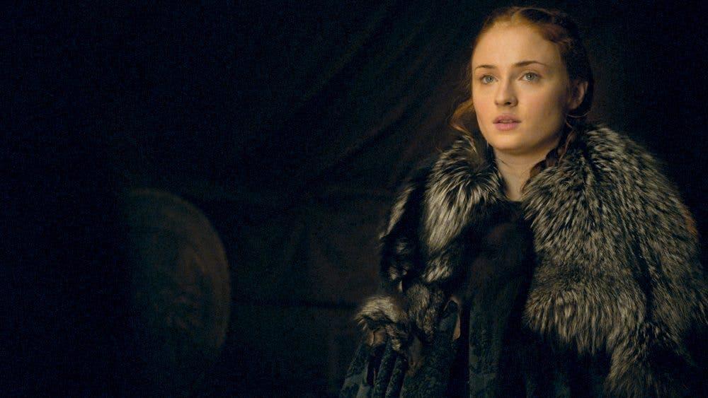 Sophie Turner es Sansa Stark