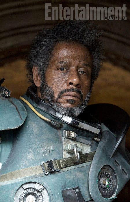 Saw Gerrera Forest Whitaker