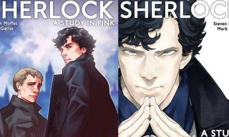 Sherlock cómic manga