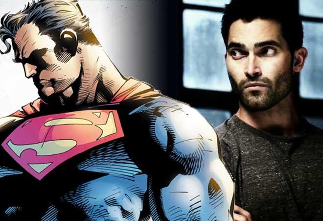 Tyler Hoechlin Superman en Supergirl