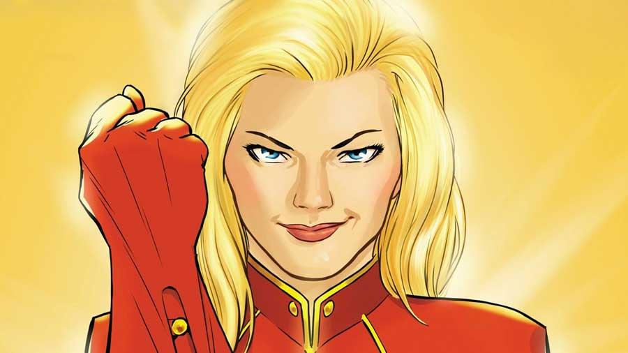 Brie Larson Capitán Marvel