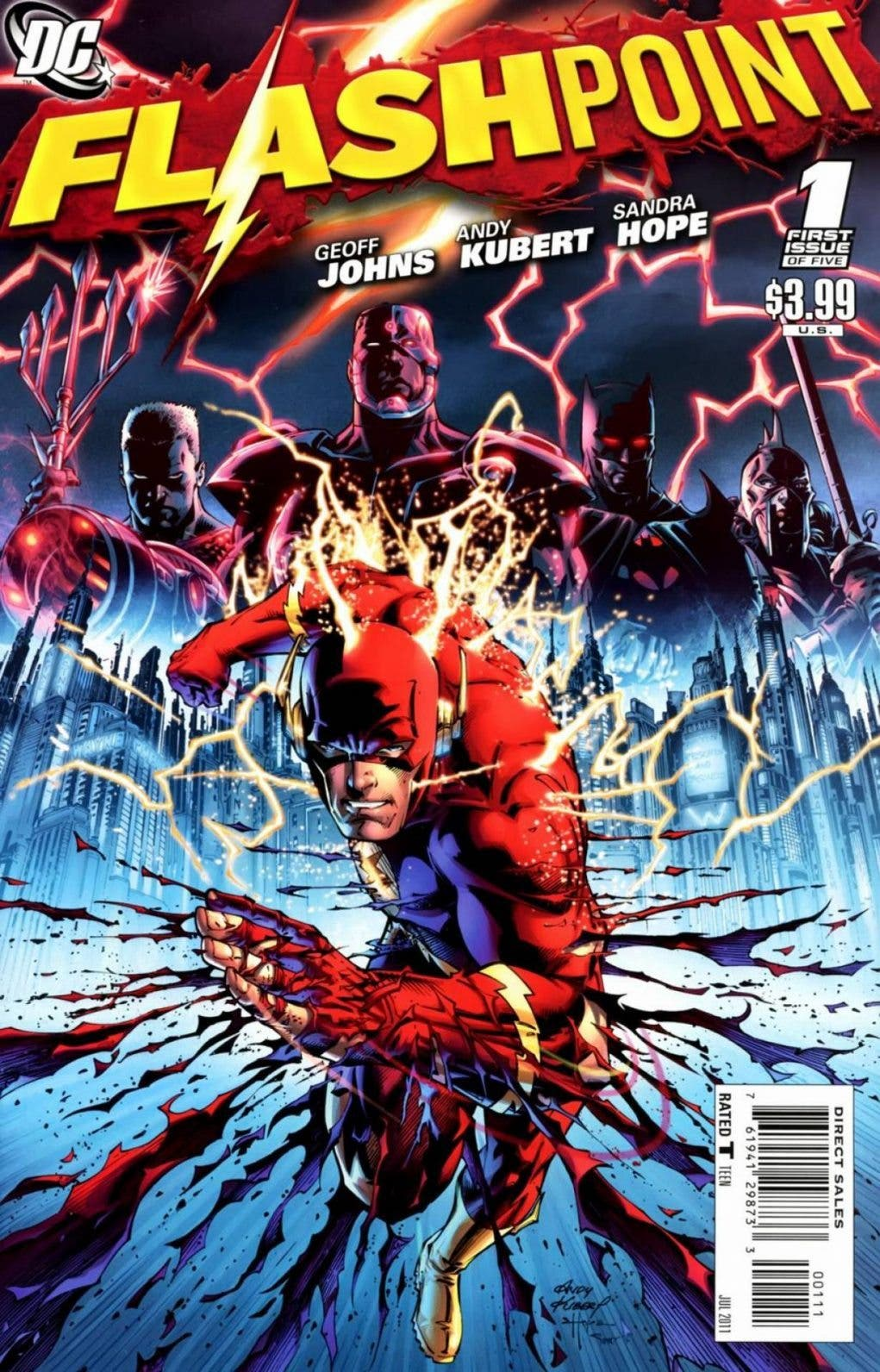 Flashpoint | 5 cómics de Flash que debes leer (DC Comics)