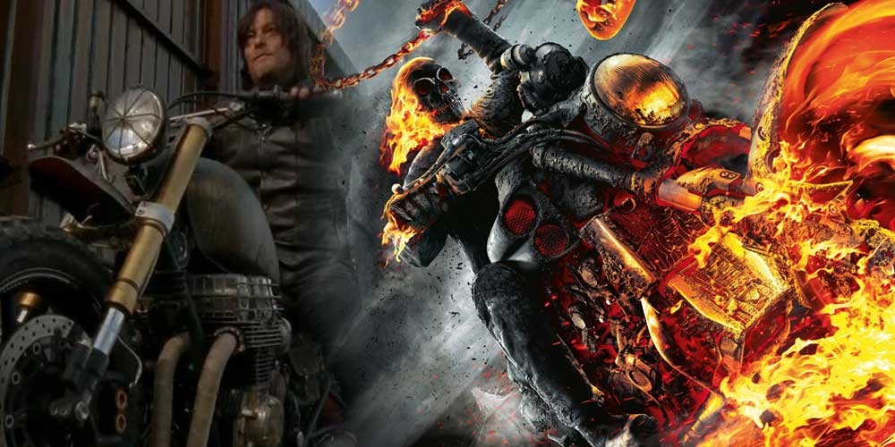 Ghost Rider Norman Reedus (Daryl en The Walking Dead)