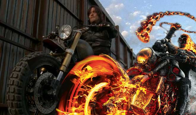 Ghost Rider Norman Reedus (Daryl en The Walking Dead)