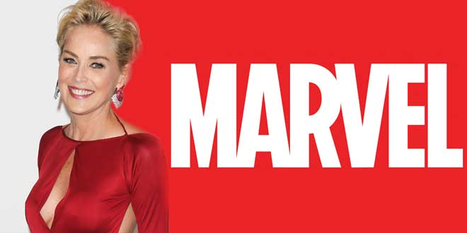 Sharon Stone en Marvel