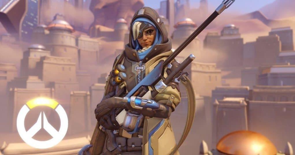 Ana nuevo personaje del videojuego Overwatch