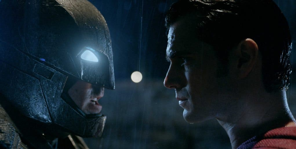 Batman v Superman con Ben Affleck y Henry Cavill