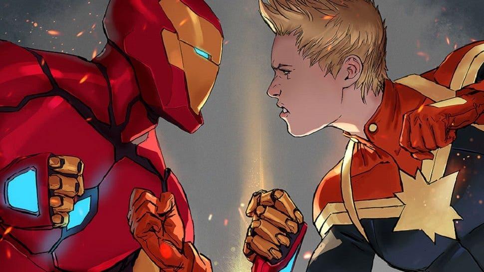 Imágenes del cómic 'Civil War II' de Marvel