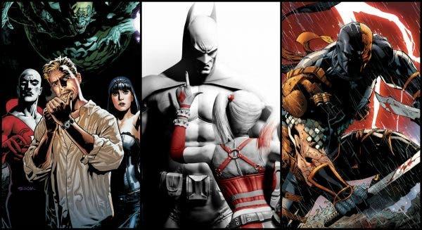 Próximas películas de animación de los superhéroes de DC'comics