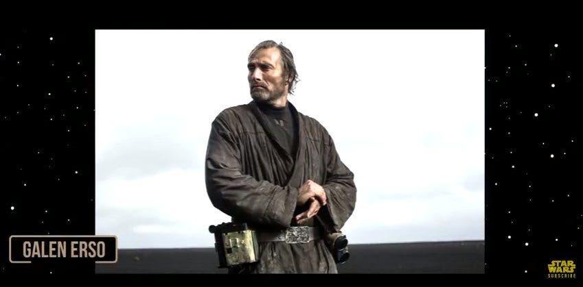 Mads Mikklesen es Galen Erso en Rogue One