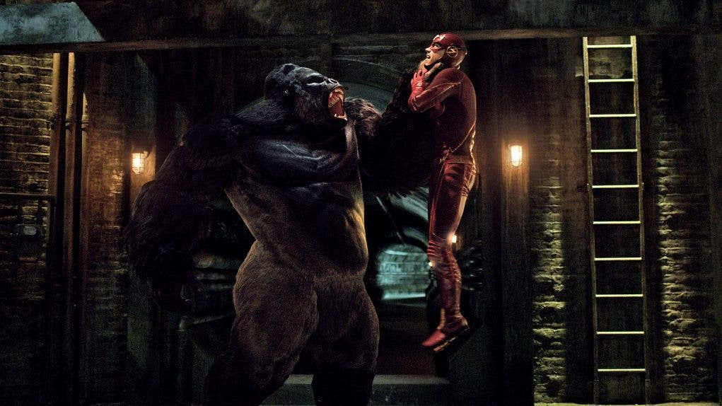 Grodd vs The Flash
