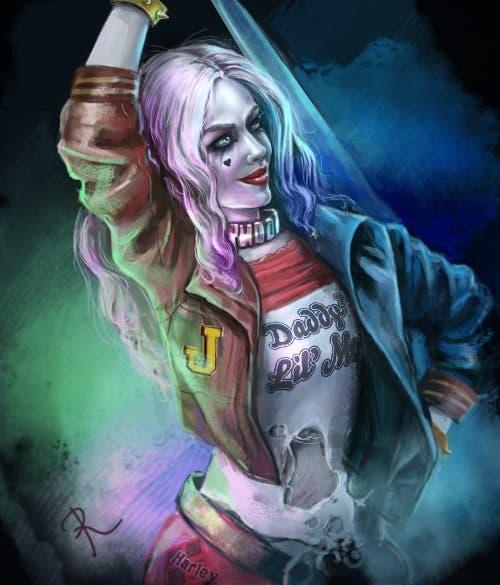 Harley Quinn (Escuadron Suicida) diseño 10