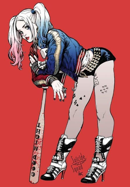Harley Quinn (Escuadron Suicida) diseño 11