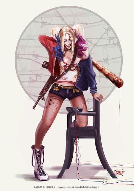 Harley Quinn (Escuadron Suicida) diseño 12
