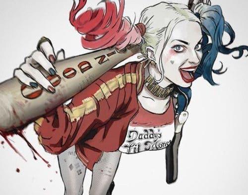 Harley Quinn (Escuadron Suicida) diseño 15