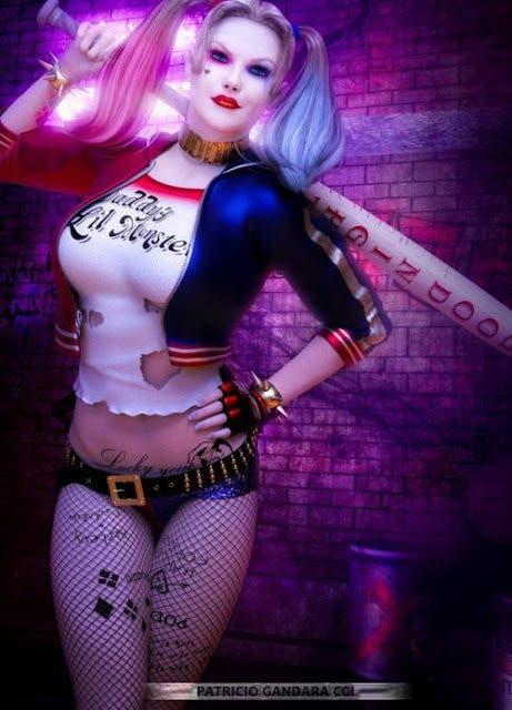 Harley Quinn (Escuadron Suicida) diseño 2