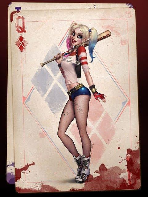 Harley Quinn (Escuadron Suicida) diseño 3